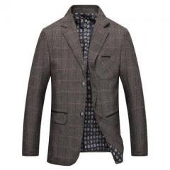 Men`s wear new suit men`s suit men`s casual suit men`s spring new men`s wear coat khaki m