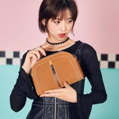 A new style spring and summer 2018 fashion oblique straddle shoulder bag women trend Korean version  green