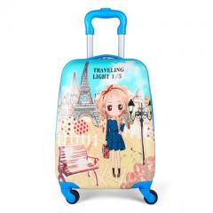 Children`s suitcase, 16