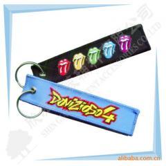 厂家供应刺绣钥匙扣、航空钥匙扣,质量保证,交货及时