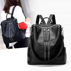 Real leather shoulder bag 2017 new style leisure f large